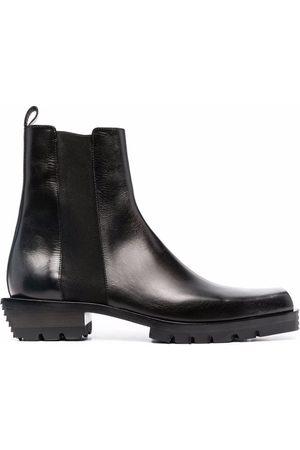 Cesare Paciotti Chelsea-Boots mit Design-Absatz