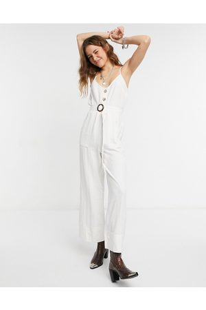 Lottie And Holly – Jumpsuit in mit Schnallendetail