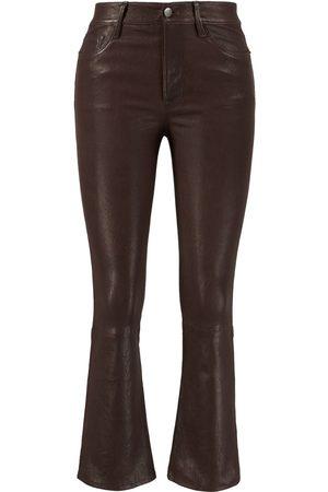 Frame Damen Shorts - Lammleder-Hose 'Le Crop Mini Boot