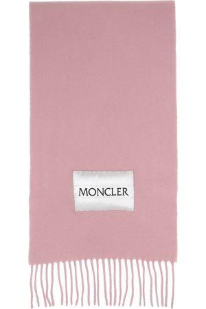 Moncler Wool Logo Scarf