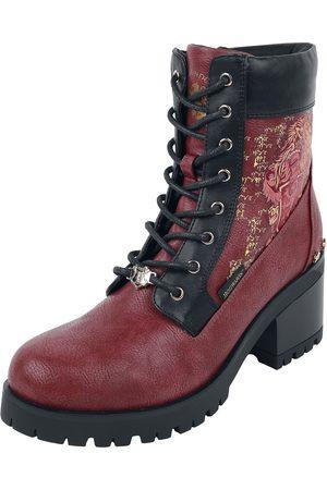Harry Potter Damen Stiefel - Gryffindor- Hauswappen Boot