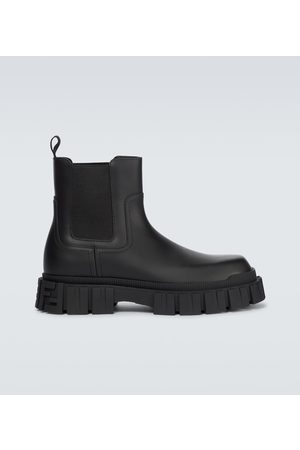 Fendi Chelsea Boots aus Leder