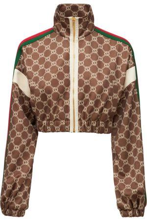 Gucci Jacke Aus Technojersey