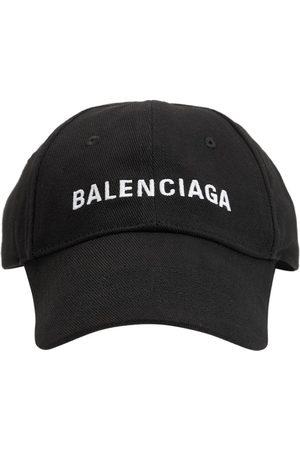 Balenciaga Baseballkappe Aus Baumwolle Mit Logostickerei