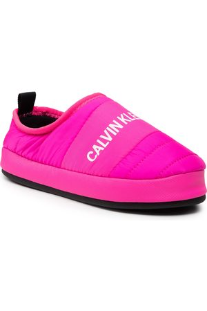 Calvin Klein Jeans Home Shoe Slipper YW0YW00479 Pink Glo TZ7