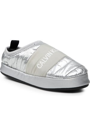 Calvin Klein Home Shoe Slipper YW0YW00479 Silver 0IN