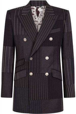 Dolce & Gabbana Herren Blazer & Sakkos - Doppelreihiges Patchwork-Sakko
