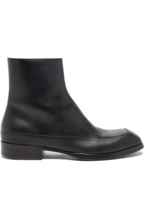 The Row Herren Stiefel - Panelled Leather Boots