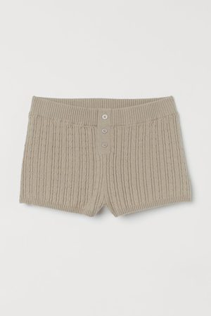 H&M Shorts in Zopfstrick