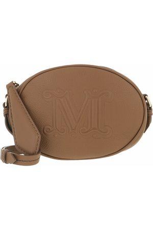 Max Mara Damen Umhängetaschen - Crossbody Bags Ovalpv brown