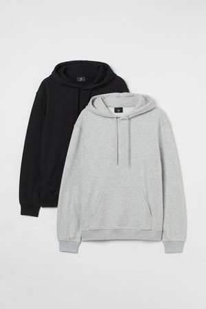 H&M 2er-Pack Hoodies Relaxed Fit