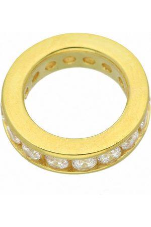Adelia's Anhänger Set »333 Gold Anhänger Taufring mit Zirkonia Ø 12,4 mm«, 333 Gold Goldschmuck für Damen