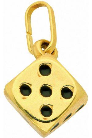 Adelia's Anhänger Set »585 Gold Anhänger Würfel«, 585 Gold Goldschmuck für Damen