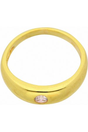 Adelia's Anhänger Set »333 Gold Anhänger Taufring mit Zirkonia Ø 11,2 mm«, 333 Gold Goldschmuck für Damen
