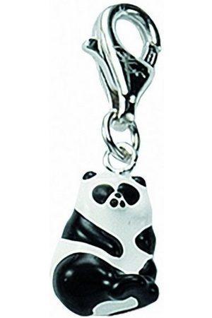 Adelia's Damen Uhren - Charm-Einhänger »925 Charms Anhänger Bär«, 925 Sterling Silberschmuck für Damen
