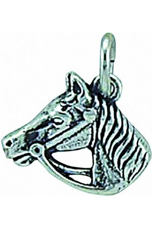 Adelia's Damen Uhren - Anhänger Set »925 Anhänger Pferdekopf«, 925 Sterling Silberschmuck für Damen