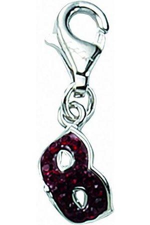 Adelia's Charm-Einhänger »925 Charms Anhänger Maske«, 925 Sterling Silberschmuck für Damen