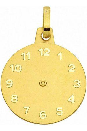 Adelia's Anhänger Set »585 Gold Anhänger Taufuhr Ø 14,1 mm«, 585 Gold Goldschmuck für Damen