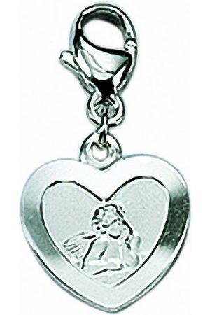 Adelia's Damen Uhren - Charm-Einhänger »925 Charms Anhänger Amor«, 925 Sterling Silberschmuck für Damen