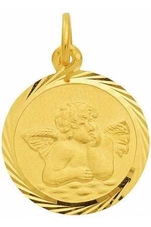 Adelia's Damen Uhren - Anhänger Set »333 Gold Anhänger Amor Ø 12 mm«, 333 Gold Goldschmuck für Damen