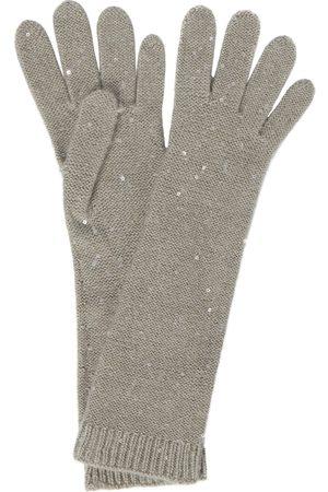 Brunello Cucinelli Handschuhe aus Kaschmir und Seide