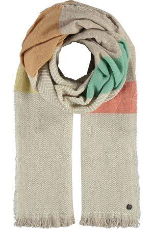 Fraas Gestreifte Stola In Wollmischung in , Tücher & Schals für Damen