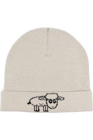 Natasha Zinko Damen Hüte - Gestrickte Intarsien-Mütze