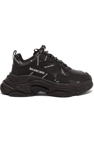 Balenciaga Damen Sneakers - Triple S Faux-leather Trainers