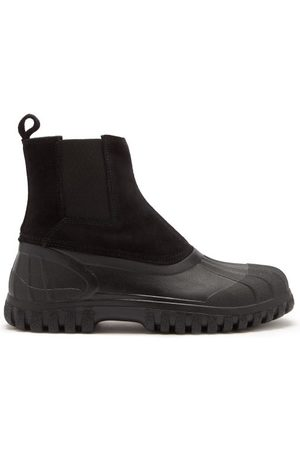 Diemme Balbi Suede And Rubber Chelsea Boots