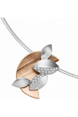 Adelia's Damen Uhren - Kettenanhänger »925 Anhänger mit Zirkonia«, für Damen