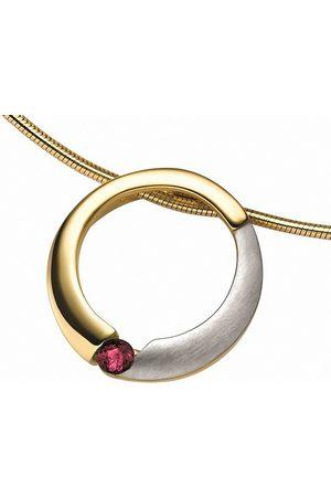 Adelia's Damen Uhren - Kettenanhänger »333 Gold Anhänger mit Rubin«, für Damen