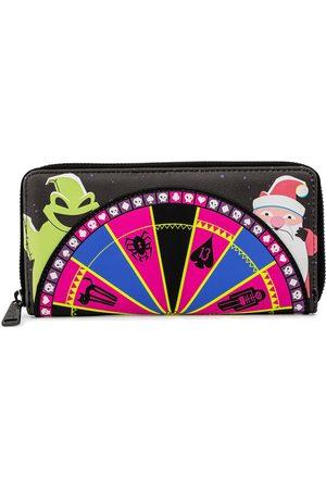 The Nightmare Before Christmas Damen Geldbörsen & Etuis - Loungefly - Oogie Boogie Wheel Geldbörse multicolor