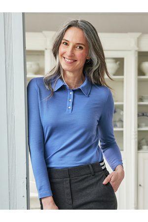 Avena Damen Longsleeves - Damen Woll-Poloshirt Extraweich