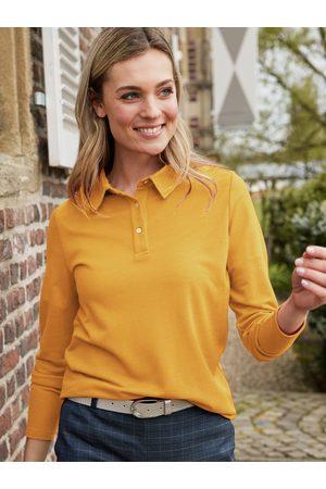 Avena Damen Polo-Shirt einfarbig