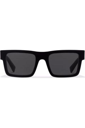 Prada Eckige Symbole Sonnenbrille