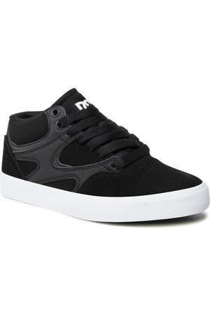 DC Damen Schuhe - Kalis Vulc Mid ADYS300622 Black/Black/White (XKKW)
