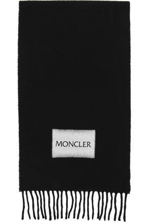 Moncler Damen Schals - Wool Logo Scarf