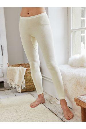 Avena Damen Unterhosen Weiss einfarbig