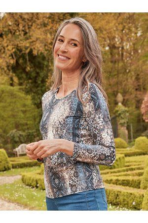 Avena Damen Viskose-Shirt Mustertraum