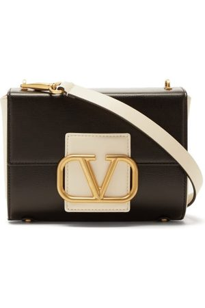 VALENTINO GARAVANI Stud Sign Small Leather Shoulder Bag