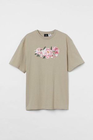 H&M Baumwoll-T-Shirt Relaxed Fit
