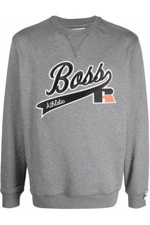 HUGO BOSS Sweatshirt mit Logo-Stickerei