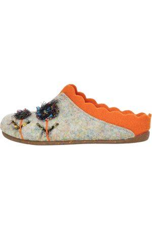 Florett Damen Hausschuhe - Pantoffel NELLY multicolor-orange
