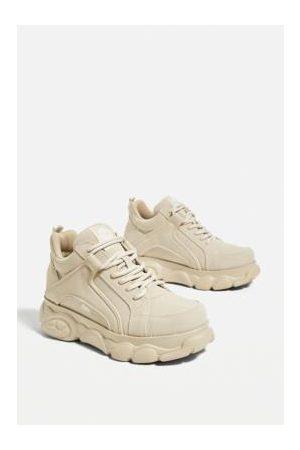 Buffalo Sneakers - Cream Corin Trainers