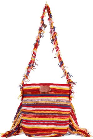 Chloé Bucket-Bag Jorge aus einem Kaschmirgemisch