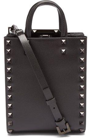 VALENTINO GARAVANI Rockstud Leather Tote Bag