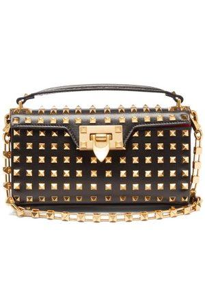 VALENTINO GARAVANI Damen Geldbörsen & Etuis - Alcove Rockstud-embellished Leather Shoulder Bag