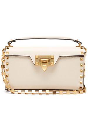 VALENTINO GARAVANI Alcove Rockstud-embellished Leather Shoulder Bag