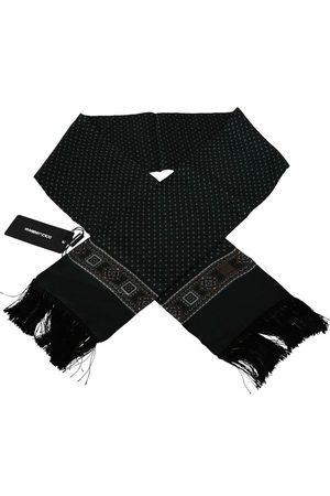 Dolce & Gabbana Baroque Tassel Silk Scarf , Herren, Größe: One size