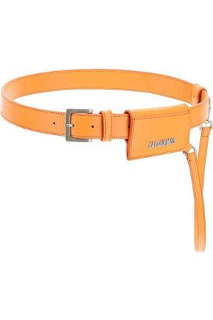 Jacquemus La ceinture porte cartes in leather , Damen, Größe: M